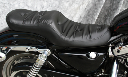 Full Seats For Sportster - Vinyl for motorcycle seat